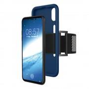 Iphone X sports løbe armbånd blå Mobil tilbehør