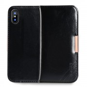 Royal elegant cover sort Iphone X Mobilcovers