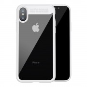 Baseus slim cover hvid Iphone X Mobilcovers