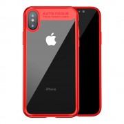 Baseus slim cover rød Iphone X Mobilcovers
