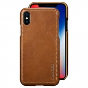 Iphone X Pierre Cardin brun mobilcover