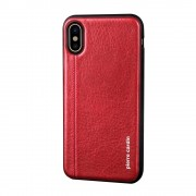 Pierre Cardin cover rød Iphone X Mobilcovers