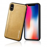 Pierre Cardin cover brun Iphone X Mobilcovers