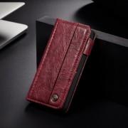 rød Vintage flip cover Iphone SE Mobil tilbehør