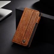 brun Vintage flip cover Iphone SE Mobil tilbehør