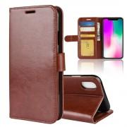 brun Vilo flip cover Iphone XR Mobil tilbehør
