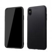 Blød tpu cover Iphone XS Max mat sort Mobil tilbehør