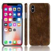 brun Stilfuld hard case Iphone Xr Mobil tilbehør