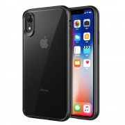 sort Combi cover Iphone XR Mobil tilbehør