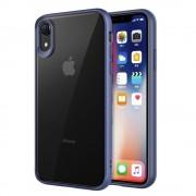 blå Combi cover Iphone XR Mobil tilbehør