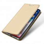 guld Slim flip etui Iphone XR Mobil tilbehør