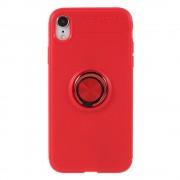 Iphone Xr rød cover med ring holder Mobil tilbehør