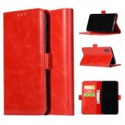 Iphone XS Max rød pung cover Mobil tilbehør