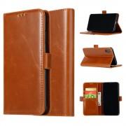 Iphone XS Max brun pung cover Mobil tilbehør