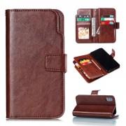 brun Cover med multi lommer Iphone XS Max Mobil tilbehør