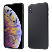 sort Slim case Iphone XS Max Mobil tilbehør