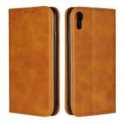 Iphone Xr flipcover wallet brun Mobil tilbehør