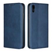 Iphone Xr flipcover wallet blå Mobil tilbehør