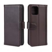 brun Flip etui læder Iphone 11 Pro Mobil tilbehør