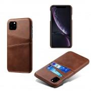 brun DC case med kort lommer Iphone 11 Pro Mobil tilbehør