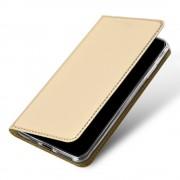guld Iphone 11 Pro Max slim flip etui Mobil tilbehør