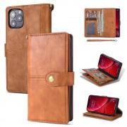 brun Retro flip etui Iphone 11 Pro Mobil tilbehør