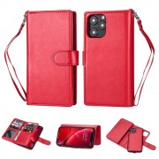rød 2 i 1 pung cover Iphone 11 Mobil tilbehør