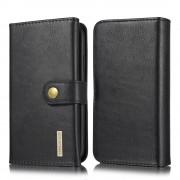 sort Læder pung cover 2 i 1 Iphone 11 Mobil tilbehør
