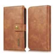 brun Læder pung cover 2 i 1 Iphone 11 Mobil tilbehør