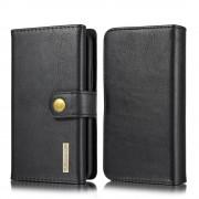 sort 2 i 1 læder pung cover Iphone 11 Pro Mobil tilbehør