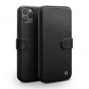 sort Skind flip etui Iphone 11 Pro Max Mobil tilbehør