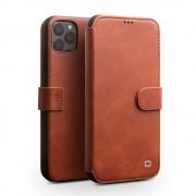 brun Skind flip etui Iphone 11 Pro Max Mobil tilbehør