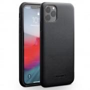 Premium læder case Iphone 11 Pro Max sort Mobil tilbehør