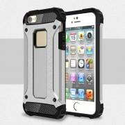 til Iphone SE 5S 5 cover sølv Armor Guard Mobiltelefon tilbehør