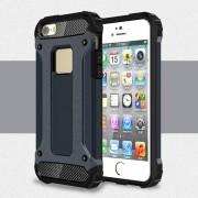 Til Iphone SE 5S 5 mørkeblå cover Armor Guard Mobiltelefon tilbehør Leveso.dk