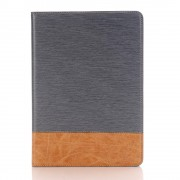 IPAD PRO 9,7 mønstret læder cover grå