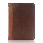 IPAD PRO 9,7 læder cover med kort lommer moccabrun