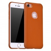 Iphone 7 cover tpu soft brun Mobiltelefon tilbehør