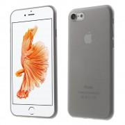 Iphone 7 cover hård slim grå Mobiltelefon tilbehør