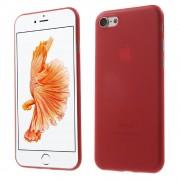 Iphone 7 cover hård slim rød Mobiltelefon tilbehør