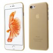 Iphone 7 cover hård slim guld Mobiltelefon tilbehør