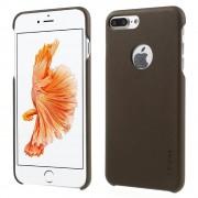 Iphone 7 plus cover noble læder mocca Mobiltelefon tilbehør