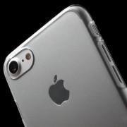 Iphone 8/7 gennemsigtig hard case Mobil tilbehør