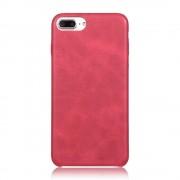 Iphone 7 plus cover vintage læder rød Mobiltelefon tilbehør