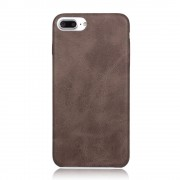 Iphone 7 plus cover vintage læder mocca Mobiltelefon tilbehør