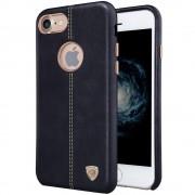 Iphone 7 cover Englon læder  sort Mobiltelefon tilbehør