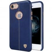 Iphone 7 cover Englon læder  blå Mobiltelefon tilbehør