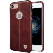Iphone 7 cover Englon læder  brun Mobiltelefon tilbehør