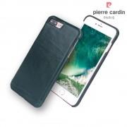 Iphone 7 plus cover Pierre Cardin wax design læder grøn Leveso.dk Mobiltelefon tilbehør