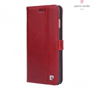 Iphone 7 plus etui Pierre Cardin luks rød Mobiltelefon tilbehør